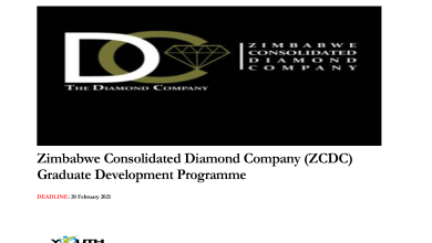 Photo of ZIMBABWE CONSOLIDATED DIAMOND COMPANY (ZCDC) GRADUATE DEVELOPMENT PROGRAMME