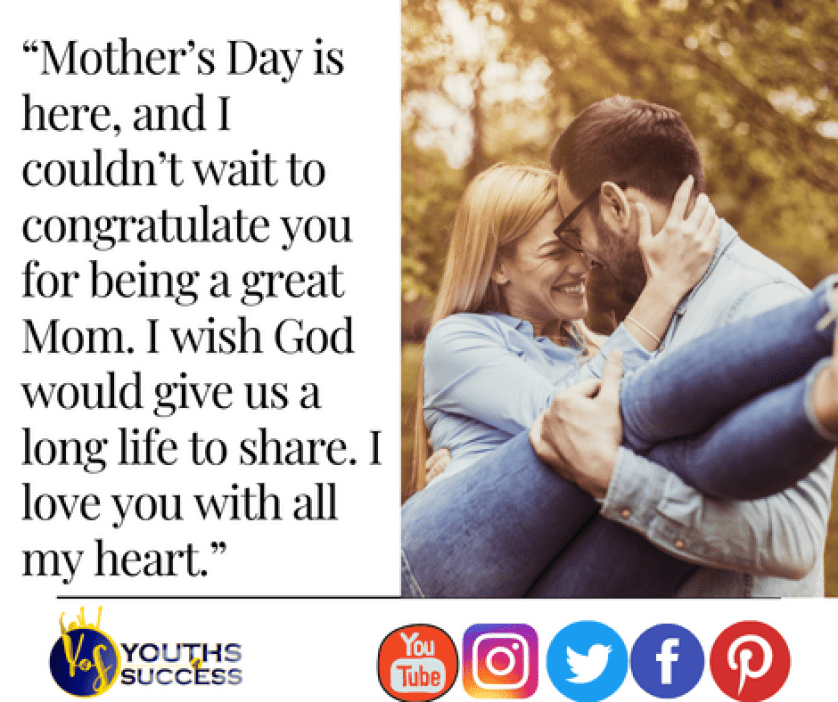 Happy Mother's Day Message For Wife