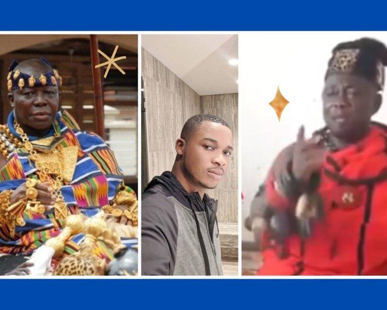 Twene Jonas and Otumfuo Nkantakesehene