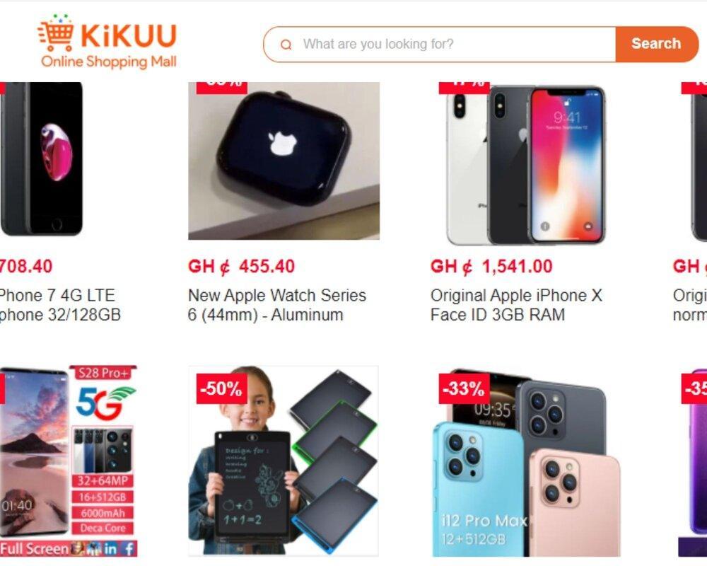 Kikuu Ghana contact numbers, address, locations, branches in Ghana