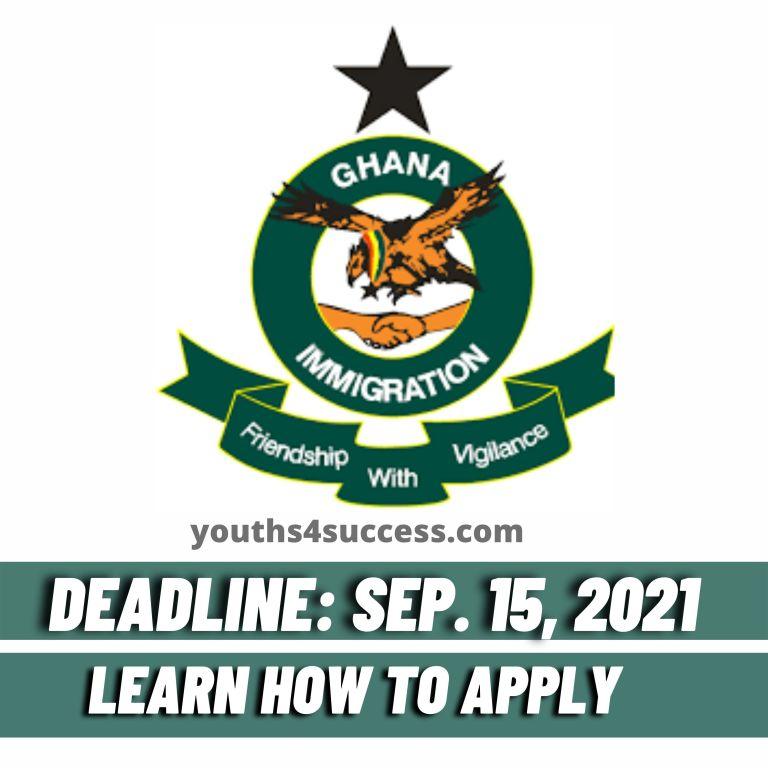 Ghana Immigration Service GIS recruitment form