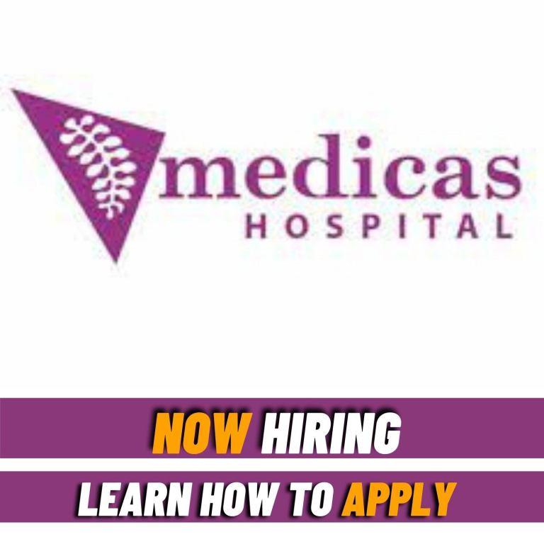 Senior nursing officer job at Medicas Hospital
