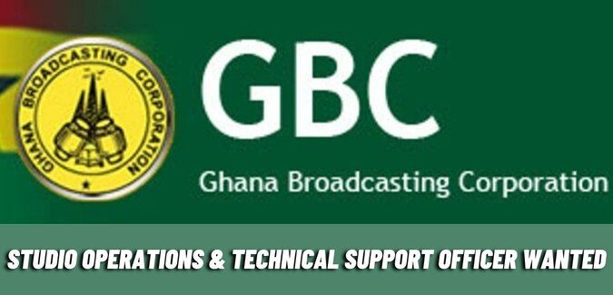 Studio Operations & Technical Support Officer Wanted at GBC