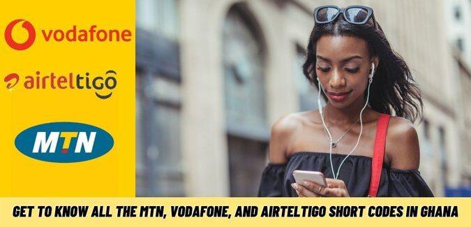 All The MTN, Vodafone, And AirtelTigo Short Codes In Ghana