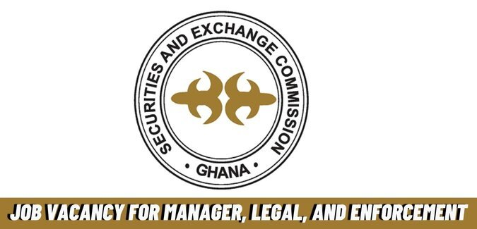 Job Vacancy For Manager, Legal, and Enforcement