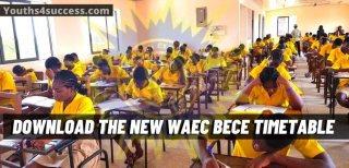 New Ghana WAEC BECE Timetable