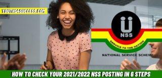 nss posting 2021/2022