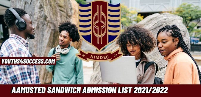 AAMUSTED Sandwich Admission List