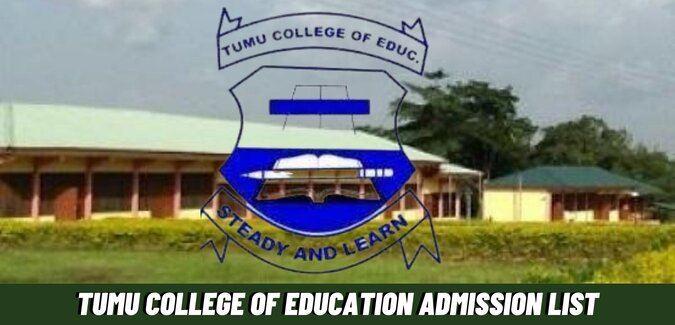 Tumu College Of Education Admission List