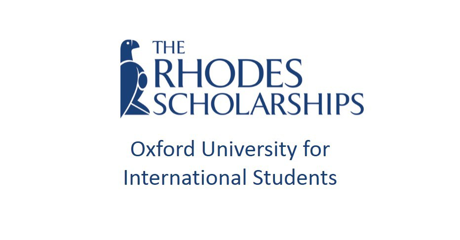 £14,276 Rhodes Scholarships For Postgraduate Study At The University Of Oxford