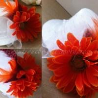 {LIAM} DIY Mini Bridal Top Hat:  Flowers for Wendy