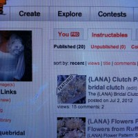 Woohoo!  The {LANA} Clutch Tutorial is Featured on Instructables