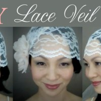 {CATHY} Lace Veil Cap : DIY Tutorial