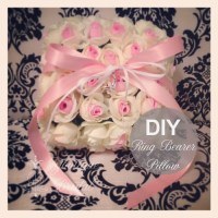 DIY Flower Ring Bearer Pillow : Guest Florist Tracy