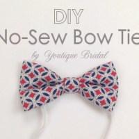 DIY No-Sew Bow Tie : Francesca's Bow Tie Bash