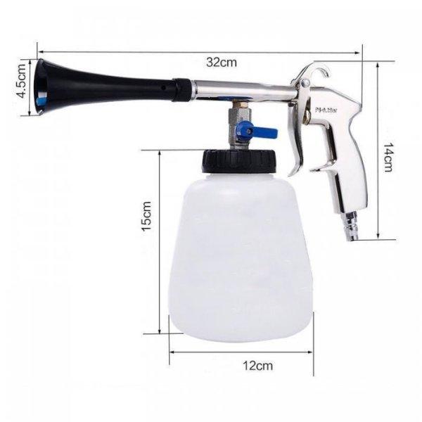 Pistola aire comprimido para limpieza