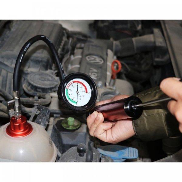 Sistema de refrigeración, presión radiador