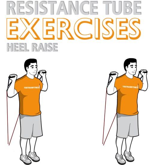 resistance-tube-standing-heel-raise