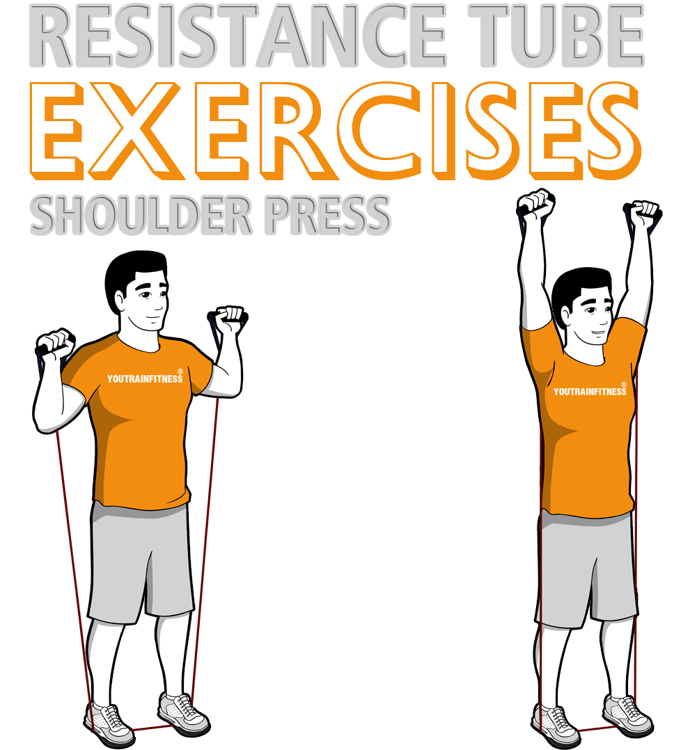 resistance-band-standing-shoulder-press