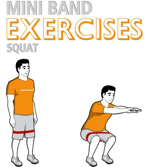 Mini Band Squat