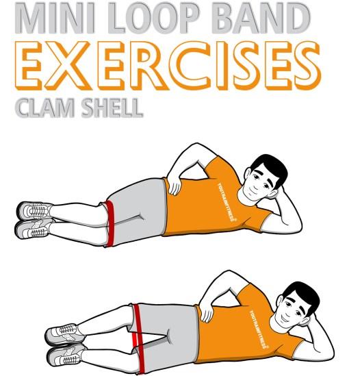 mini band clam-shell