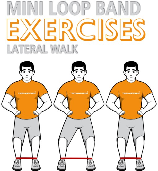 Mini Band Lateral Walk