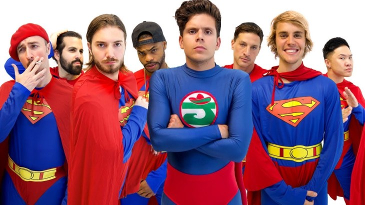 Racist Superman | Rudy Mancuso, Alesso & King Bach