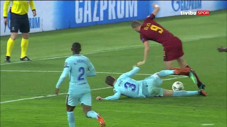 Roma 3-0 Barcelona   UEFA Şampiyonlar Ligi Çeyrek Final