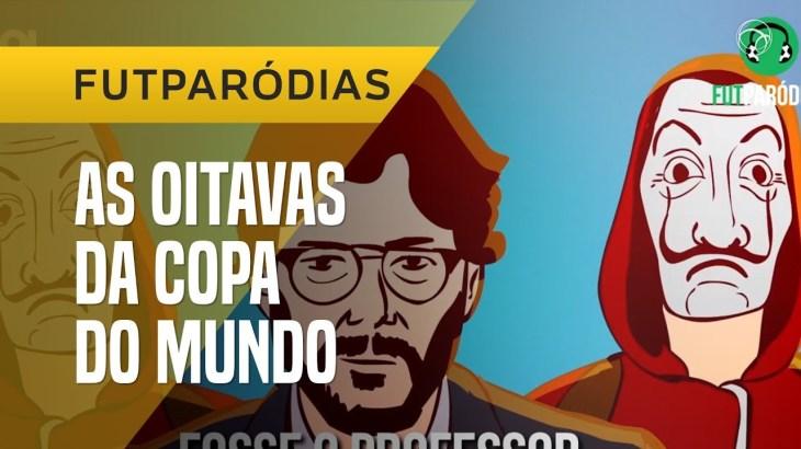 """FUTPARÓDIAS: """"LAS OITAVAS DE PAPEL"""" DA COPA"""