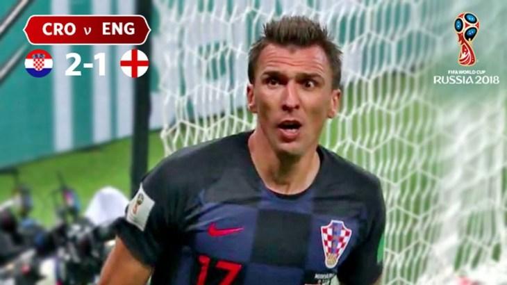 Croatia v England | Highlights | 2018 FIFA World Cup Russia™