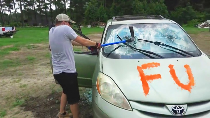 Destroying My Friend's Car And Surprising Him With A New One – Slime
