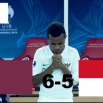 INDONESIA U-19 VS QATAR U-19 (AFC U-19) 5-6