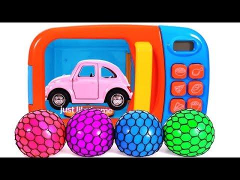 Aprende los Colores | Carros de Juguete | Video Educativo para Niños