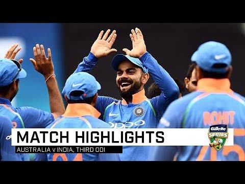 Dhoni, India seal tense ODI series win | Third Gillette ODI