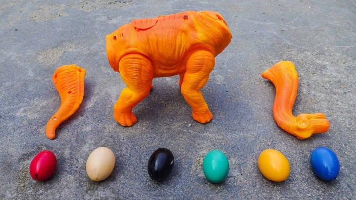 Dinosaur Walking and Laying Eggs Toys Learn Colors & Numbers for Children F413V