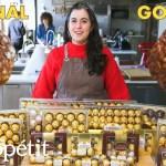Pastry Chef Attempts to Make Gourmet Ferrero Rocher   Gourmet Makes   Bon Appétit