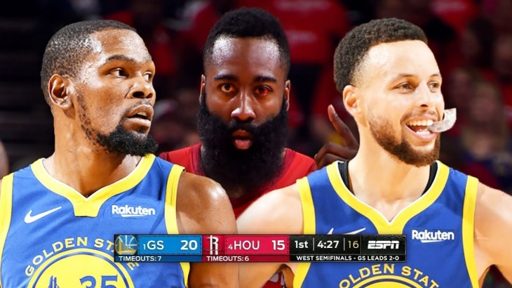 Golden State Warriors vs Houston Rockets – Game 3 – Full Game Highlights | 2019 NBA Playoffs