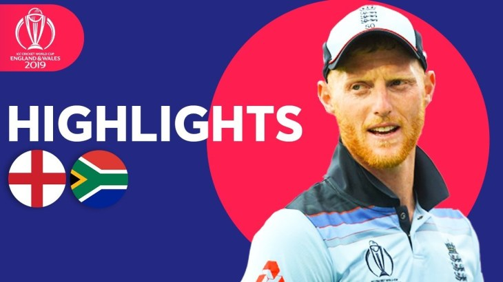 England vs South Africa | ICC Cricket World Cup 2019 – Match Highlights