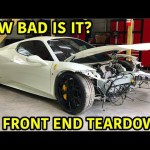Rebuilding A Wrecked Ferrari 458 Spider Part 2