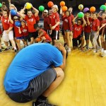 World's Largest Game Of Dodgeball
