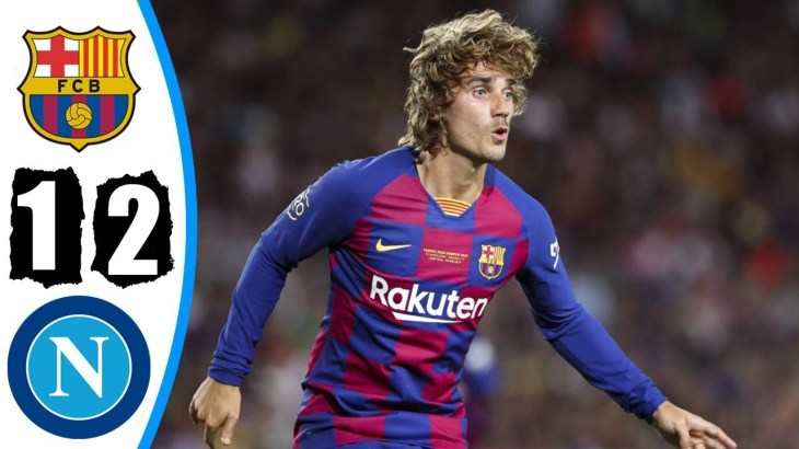 Barcelona vs Napoli 2-1 – Highlights & Goals Resumen & Goles 2019 HD