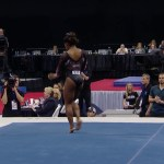 Simone Biles Stuns With New Triple Double on Floor | Champions Series Presented By Xfinity