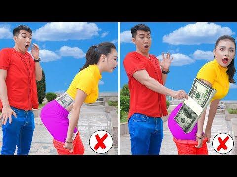 Girl DIY! 18 SECRET HACKS TO HIDE YOUR STUFF / FUNNY MONEY HIDING LIFE HACKS FOR GIRLS by T-STUDIO