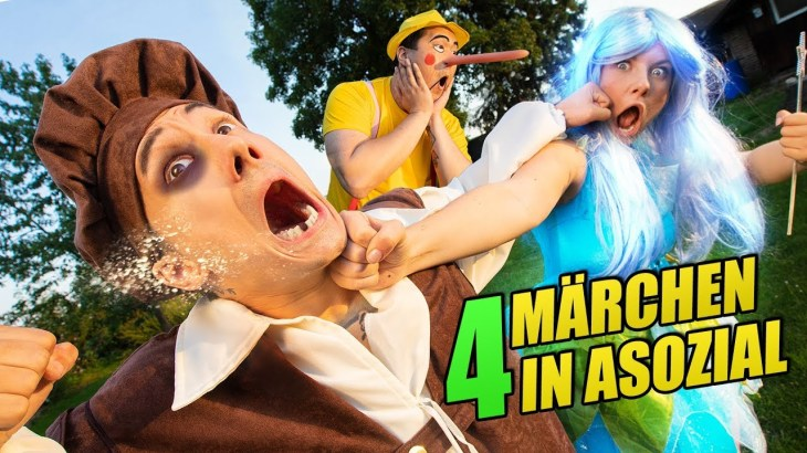 MÄRCHEN in ASOZIAL 4 feat. Kelly | Julien Bam