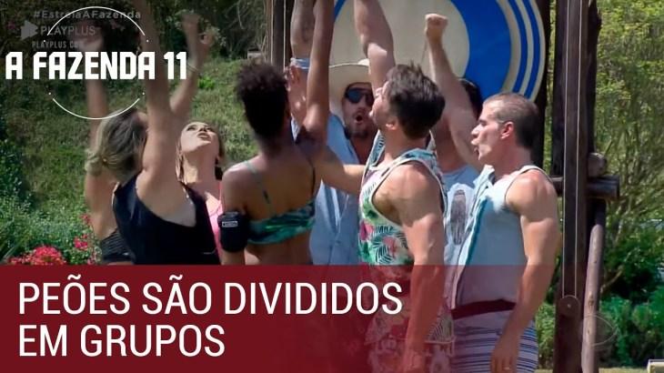 Ep. 01 | Peões são divididos em grupos na primeira atividade da temporada