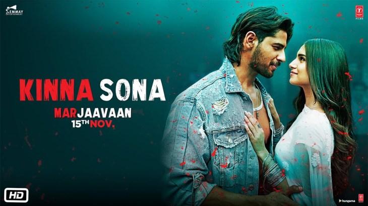 Kinna Sona Video | Marjaavaan | Sidharth M, Tara S | Meet Bros, Kumaar, Jubin N, Dhvani Bhanushali