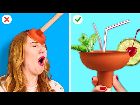 FUNNY LIFE HACKS THAT WORK REAL MAGIC! || Life-Saving Hacks by 123 GO! GOLD