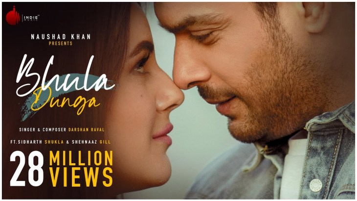 Bhula Dunga – Darshan Raval | Official Video | Sidharth Shukla | Shehnaaz Gill | Indie Music Label