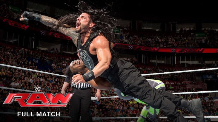 FULL MATCH – The New Day vs. Roman Reigns & Randy Orton – Handicap Match: Raw, May 4, 2015