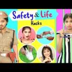 7 Life Saving SAFETY Hacks You Must Know | Anaysa